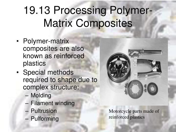 19.13 Processing Polymer-Matrix Composites