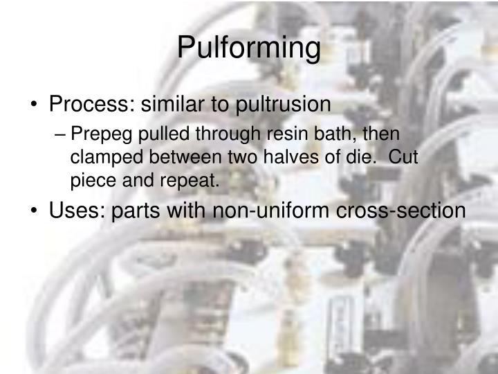Pulforming