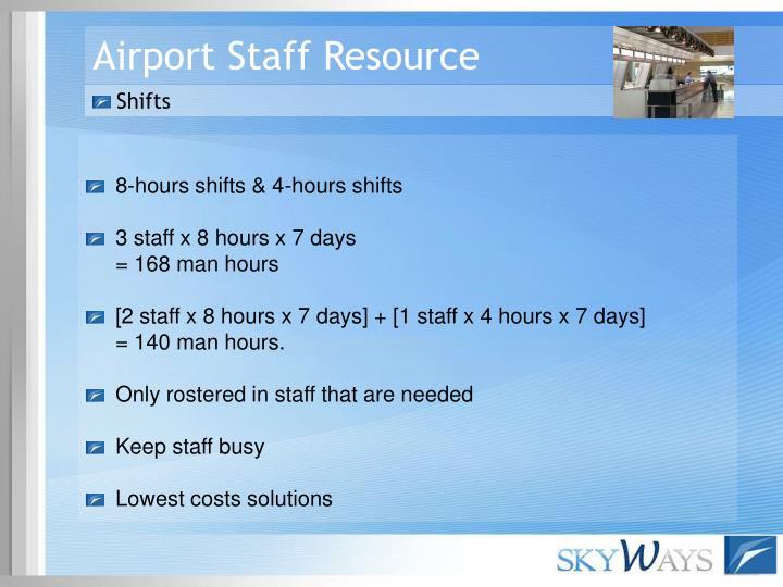 Airport Staff Resource