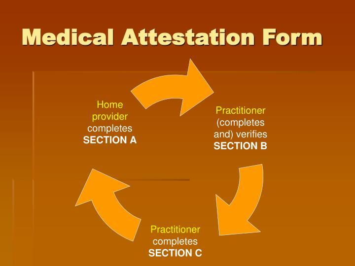 Medical Attestation Form