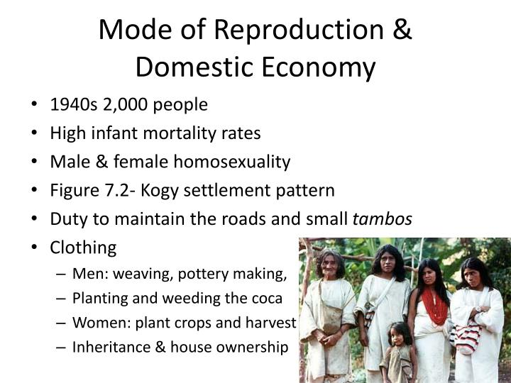 Mode of Reproduction &