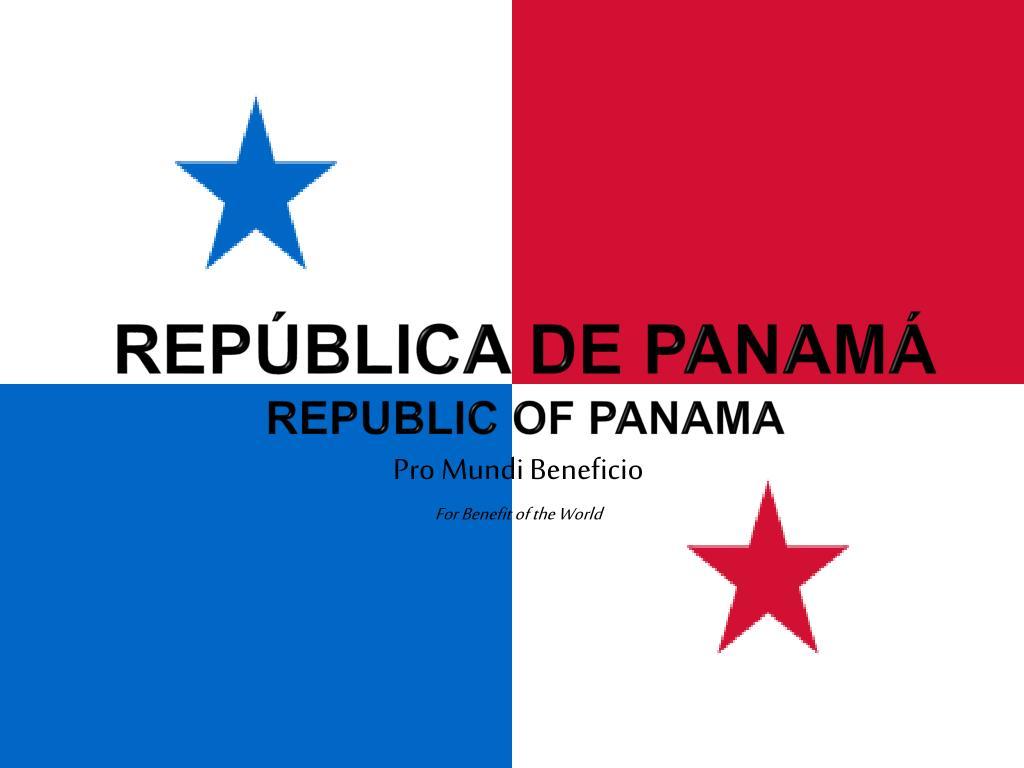 rep blica de panam republic of panama l.