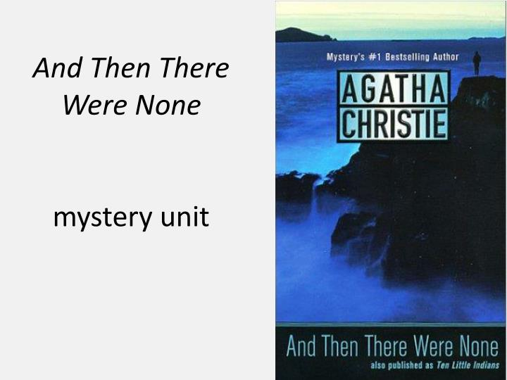 and then there were none by Enter your mobile number or email address below and we'll send you a link to download the free kindle app then you can start reading kindle books on your smartphone, tablet, or computer - no kindle device required.