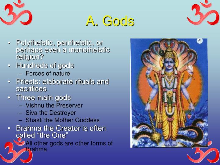 A. Gods