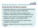 raising standards improving lives22