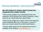 raising standards improving lives7