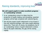 raising standards improving lives9