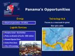 panama s opportunities