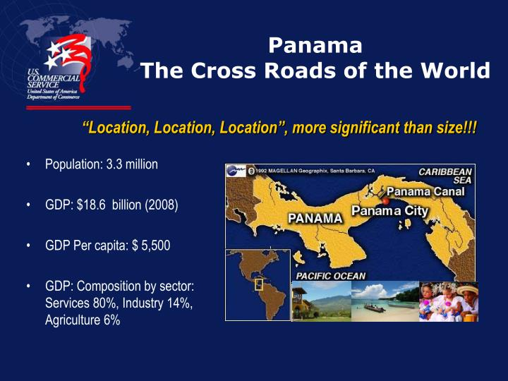 Panama the cross roads of the world