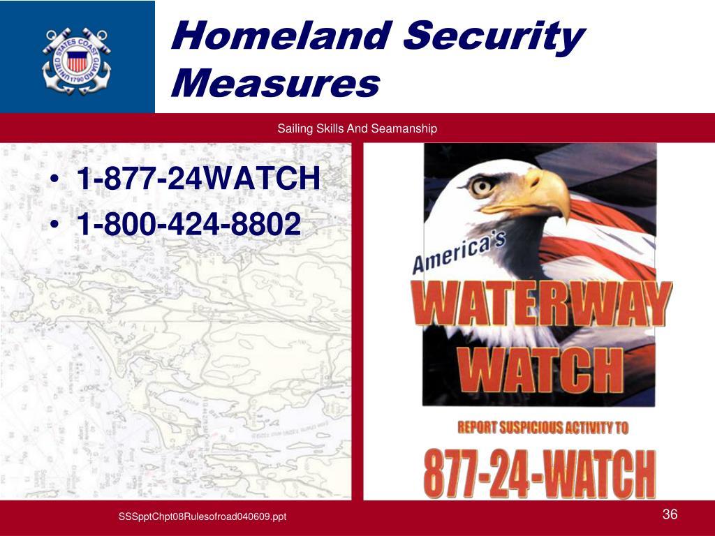 Homeland Security Measures
