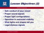 lesson objectives 2