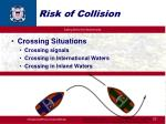risk of collision23