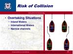 risk of collision24