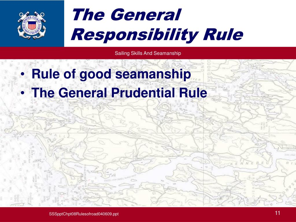 The General Responsibility Rule