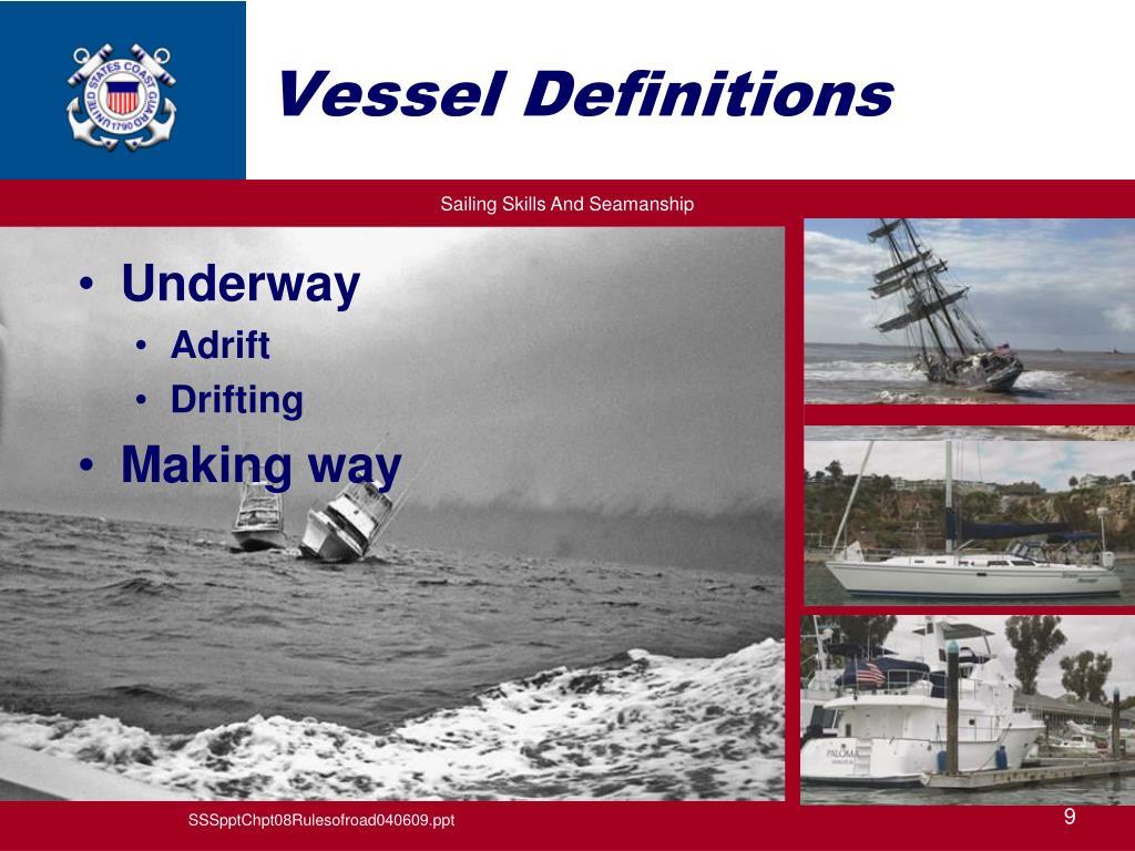 Vessel Definitions