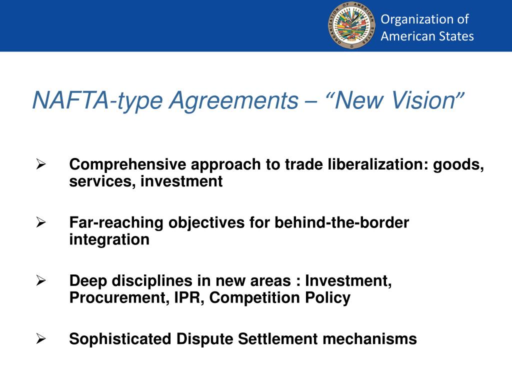 NAFTA-type Agreements