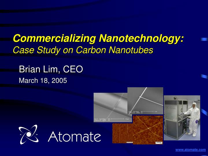 nanotechnology case study essay Studymoose™ is the largest database in 2018 with thousands of free essays online for college and high schools find essays by subject & topics inspire with essay ideas and get a+ grade with our professional writers try free.