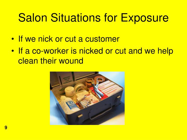 Salon Situations for Exposure