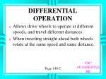 differential operation