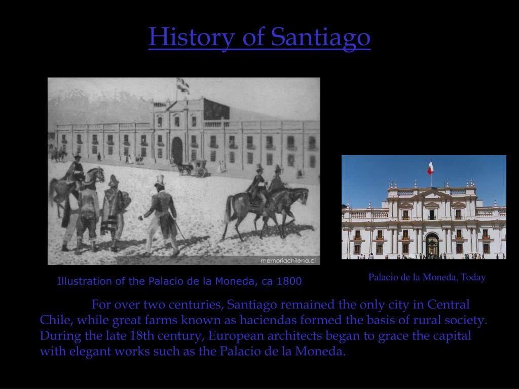 History of Santiago