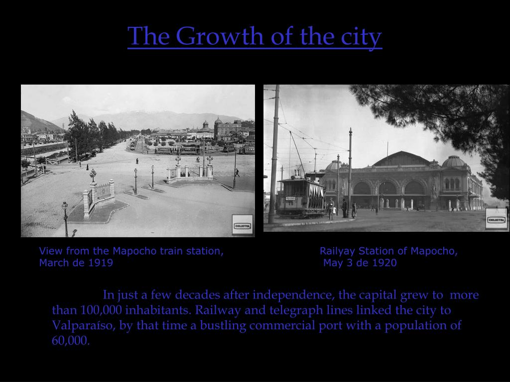 The Growth of the city