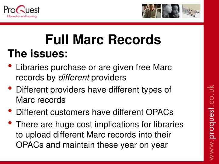 Full Marc Records