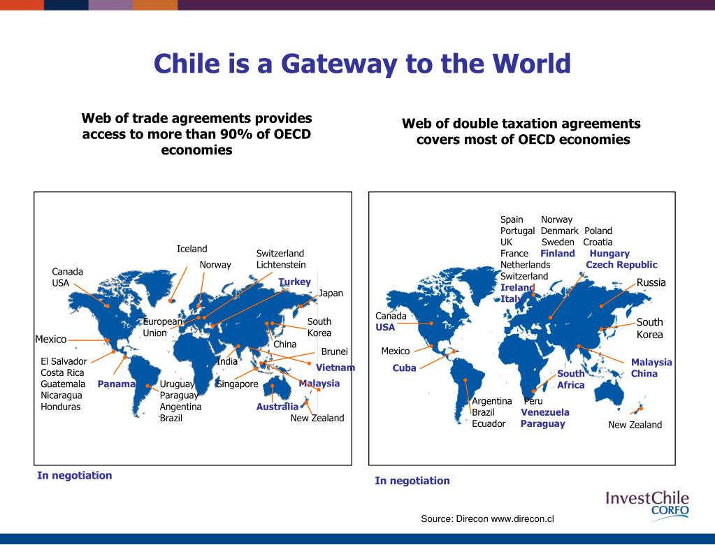 Chile is a Gateway to the World