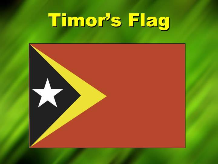 Timor s flag