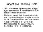 budget and planning cycle12