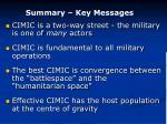 summary key messages
