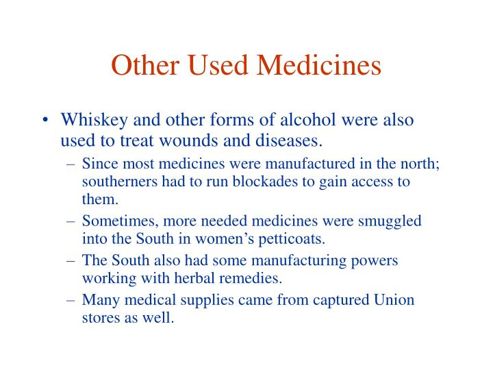 Other Used Medicines