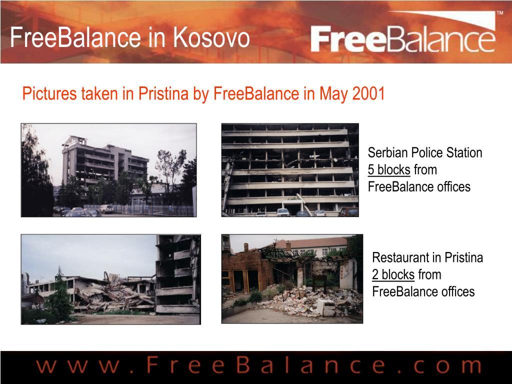FreeBalance in Kosovo