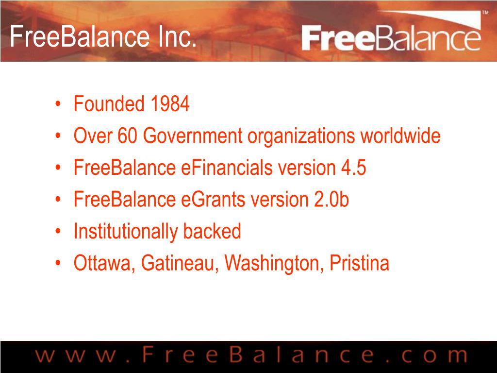 FreeBalance Inc.