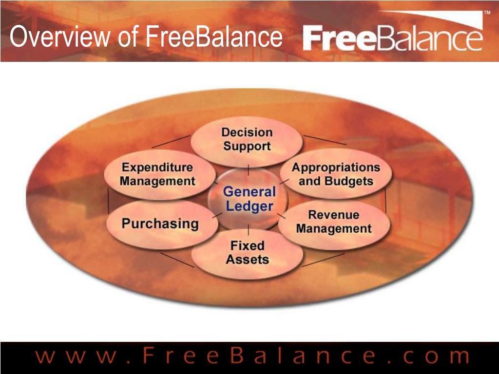 Overview of FreeBalance