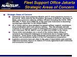 fleet support office jakarta strategic areas of concern