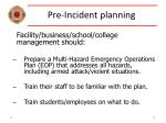 pre incident planning22