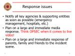 response issues32