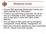 response issues33