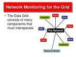 network monitoring for the grid