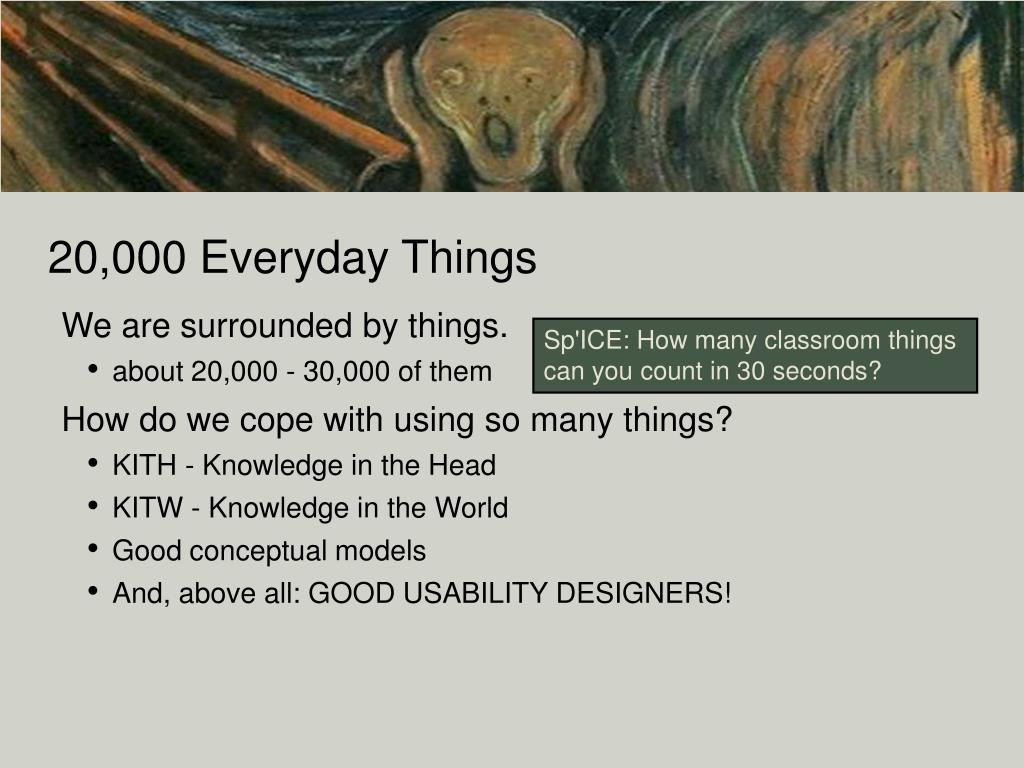 20,000 Everyday Things