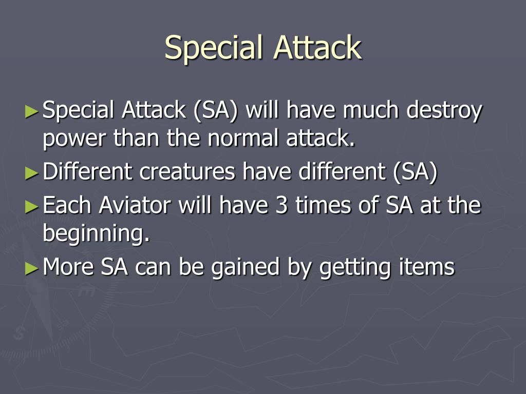 Special Attack