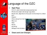 language of the dzc23