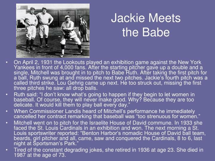 Jackie Meets