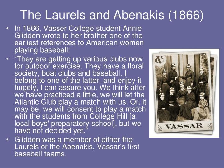The laurels and abenakis 1866