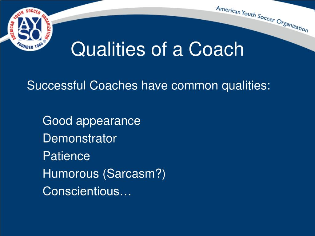 Qualities of a Coach