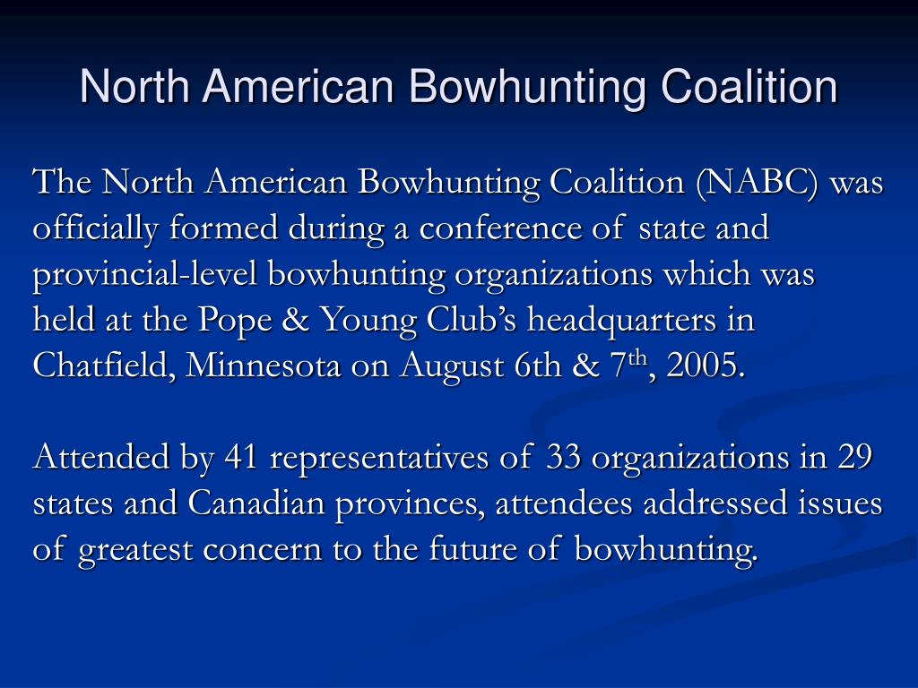 North American Bowhunting Coalition