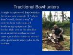traditional bowhunters76