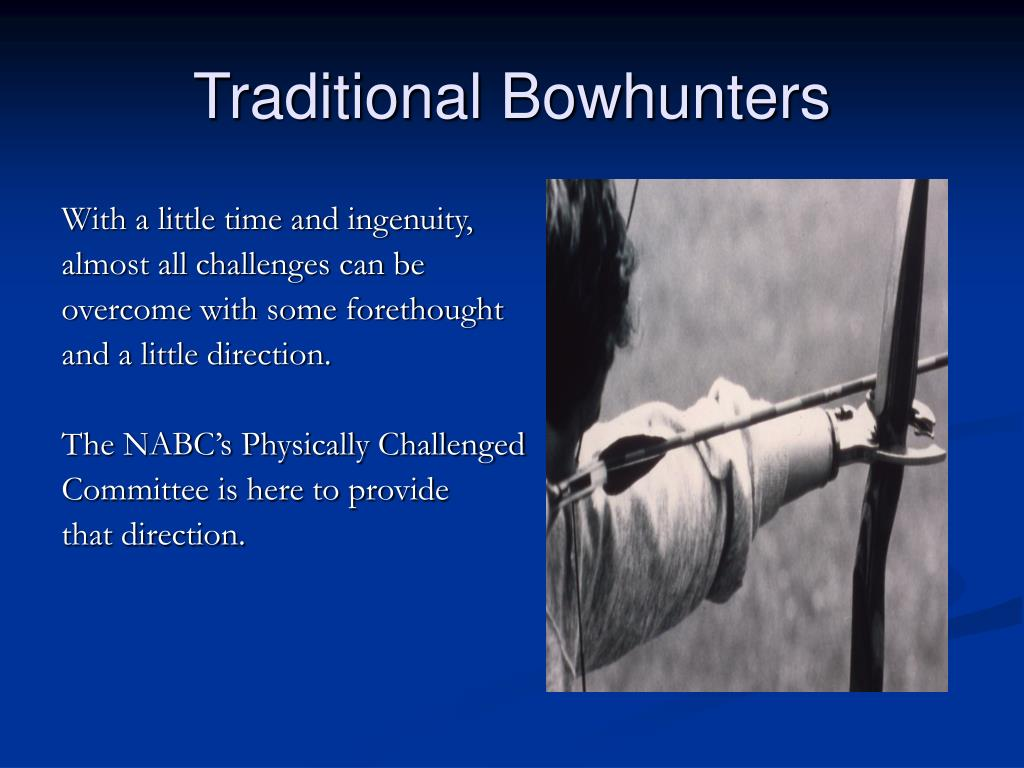 Traditional Bowhunters
