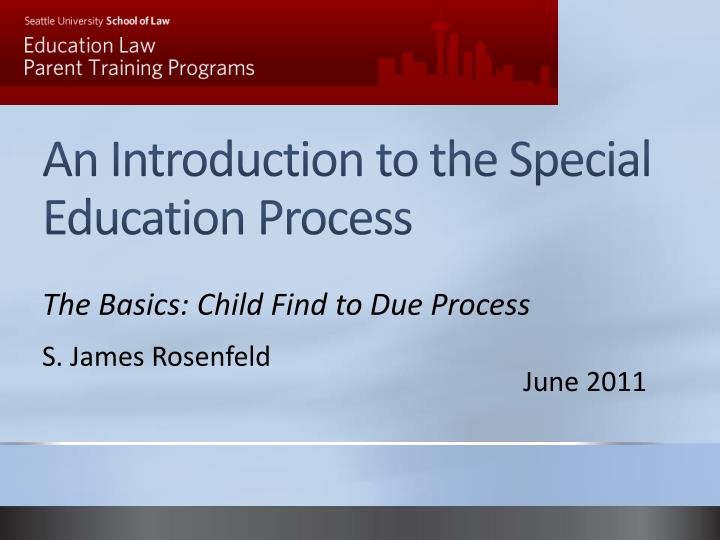 the special education process essay Reflection one of the reasons behind my taking this course was to learn how to better accommodate students in my class with exceptionalities and strategies to help learn all my students meaningfully.