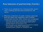 key features of partnership contd20